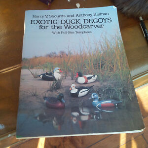 Exotic Duck Decoys For the Wood Carver