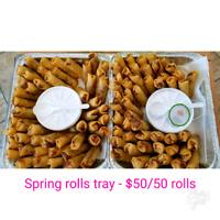 Vietnamese Spring rolls, Chicken Salad