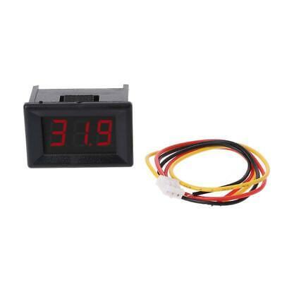 Dc 0-100v 0.36 3-digital Voltmeter Led Panel Voltage Meter For Car Motorcycle