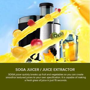 ★★★ Brand New Stainless Steel Fruit Juicer Juice Extractor ★★★ Melbourne CBD Melbourne City Preview