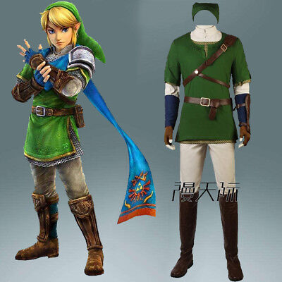 The Legend of Zelda Twilight Princess Spiel Game Cosplay Kostüm Costume Schuhe ()