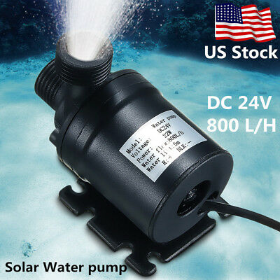 Dc 24v Hot Water Circulation Pump Solar Water Pump Brushless Motor 5m Lift