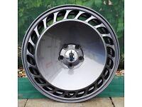 """18"""" Gunmetal Retro 88 Alloy Wheels 5x112 for a Golf MK5 MK6 MK7 Jetta Caddy ETC"""