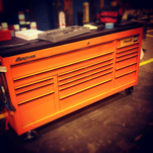 Coffre Snap-on Classic series 96 electric orange