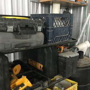 Large tool & materials sale moving
