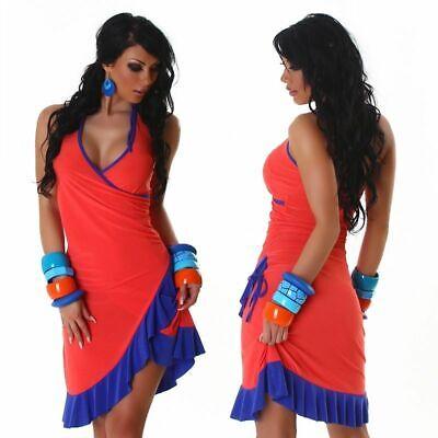 Sexy Latin Kleid Tanzkleid Salsa Neckholder Minikleid - Sexy Salsa Kleid
