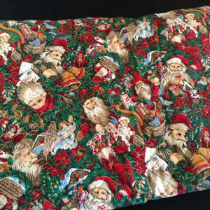 Xmas quilled fabric