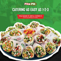 Happy Holidays from Pita Pit! 20 FREE COOKIES or 10 FREE DRINKS!