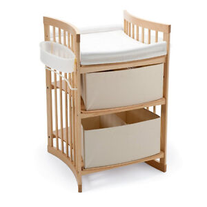 Stokke Care, changing table with storage, converts to desk