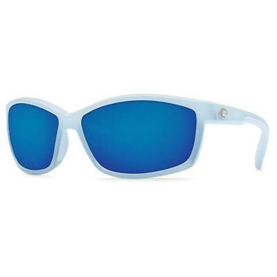 New Costa del Mar Manta 580P Polarized Sunglasses Ocean Blue Mirror Men/Women