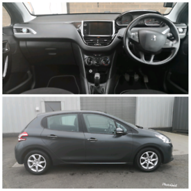 image for Peugeot 208 active 1.2L 1yr MOT like fiesta, clio, Megane, A1