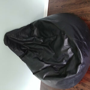 Bean bag chair with head rest