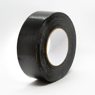 "IPG - Industrial Grade BLACK Duct Tape 2"" X 60Y (48mmX55M ) 11 Mil, Case of 24"