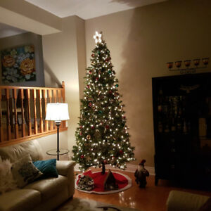 MUST GO ASAP - 9 FT Prelit Christmas Tree in perfect condition.