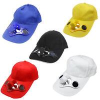 Summer Outdoor Solar Sun Power Hat Cap Cooling Fan Suit For Golf Baseball Sport - unbranded - ebay.co.uk