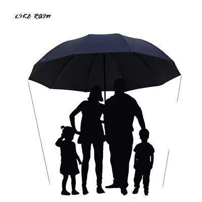 Ombrello Grande Per Famiglia Largo Extra Uomo Donna Bambino