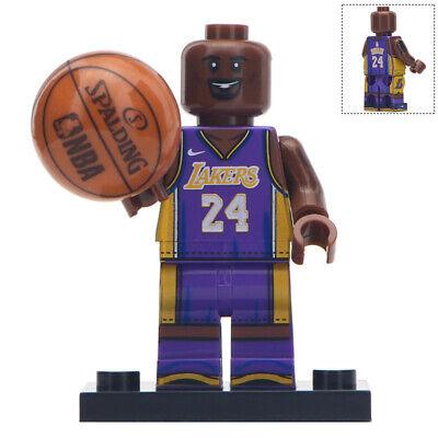 Kobe Bryant - Basketball Player Lego Moc Minifigure (LA Lakers)