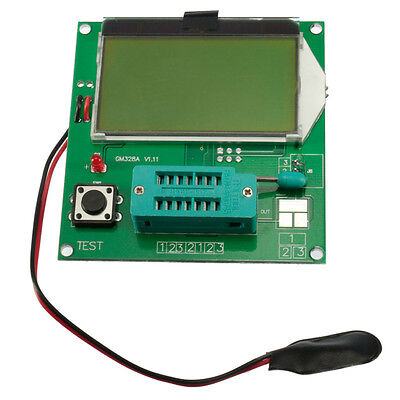 All-in-1 Lcd Component Tester Transistor Tester Diode Capacitance Lcr Esr Meter