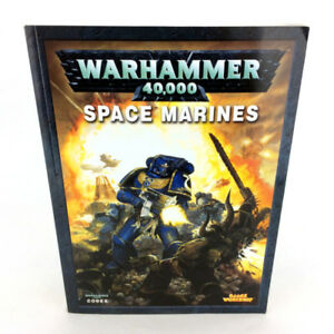 Warhammer 40K Space Marines Codex Book 5th Ed Games Workshop
