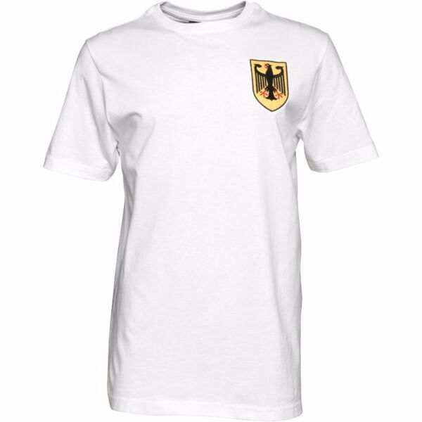 Toffs Mens Germany Number 5 T-Shirt - White (Size L) (Brand New With Tags)