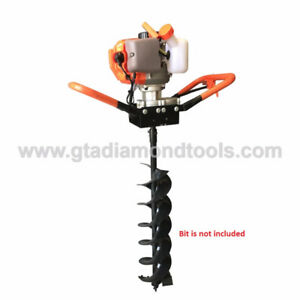 Earth auger Post hole digger 52cc Dirt Soil Clay WARRANTY