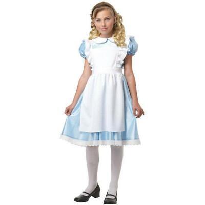 Alice in Wonderland Girl's Costume - Halloween Party Supplies