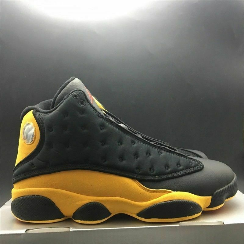 607cd8e90d8395 Nike Air Jordan 13 Melo Class of 2003 black and yellow - ALL Sizes - FREE  DELIVERY