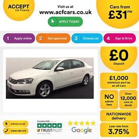Volkswagen Passat 1.6TDI ( 105ps ) BlueMotion Tech 2012MY S FROM £31 PER WEEK !
