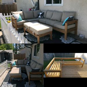 Solid Handmade Patio Furniture