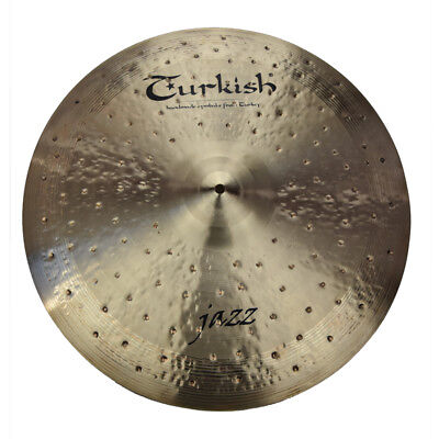 "TURKISH CYMBALS cymbale Jazz 21"" Ride 2104g"