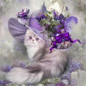 Diamond Painting Craft Kit - Fashionable Kitty