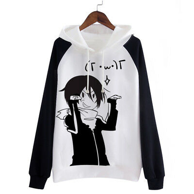 Halloween Type Anime (Anime Noragami Yato Costume Halloween Sweatshirts Fleece Sweats Hoodies 6)