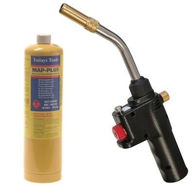 Quick Pro Auto Power Gas Blow Torch Welding Soldering Brazing Cylinder Plumbing