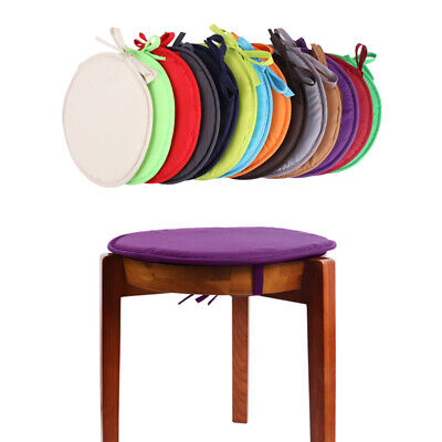 Durable Chair Pad Candy Color Seat Cushion Dining Room Chair