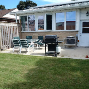 Lower Level of Bungalow for Rent – October 1, 2018