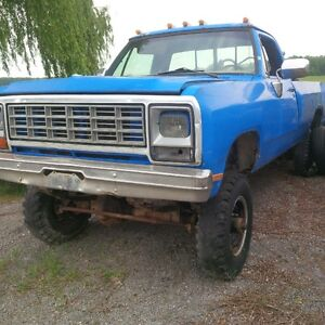 1978 Dodge Power Ram 3500 Pickup Truck