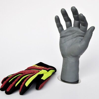 1pc Mannequin Hands Arms Wrist Ring Watch Display Male Gloves Model With Magnet