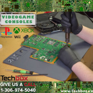 Console Repair and services - HDMI port. fan replacement & more!