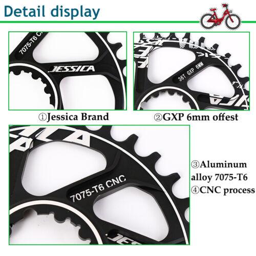 JESSICA GXP 170mm Crankset 32-38T MTB Road Bike Chainring Crank Bottom Bracket