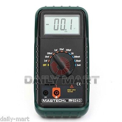 Mastech My6243 3 12 Digital Lc Cl Meter Inductance Capacitance Tester