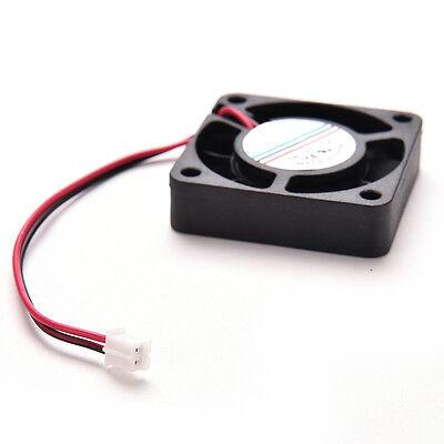 Black Cooling Fan 12V 2Pin DC 40x40mm For CPU Laptop PC Heat