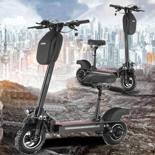 10″ E-Scooter Scooter Elektroroller Roller 54V 15Ah 600W 45KM/H mit Seat DHL