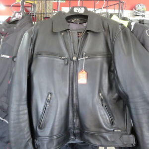 Men's Leather Motorcycle Jacket XL Only $100 Re-Gear Oshawa