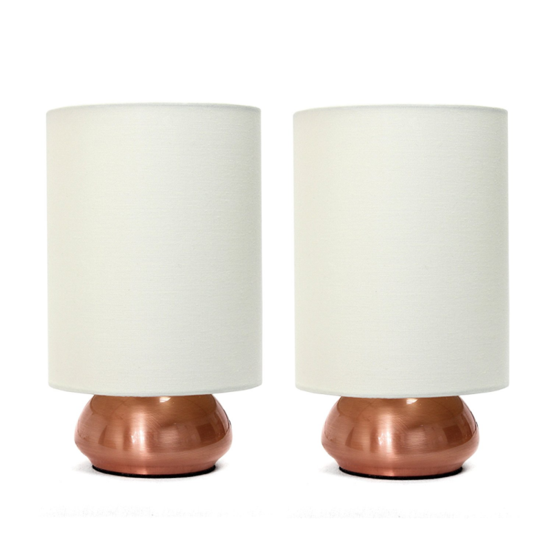 Bedside Touch Lamps Small Table Lamp For Bedroom Nightstand Lights Mini Set Of 2 Ebay