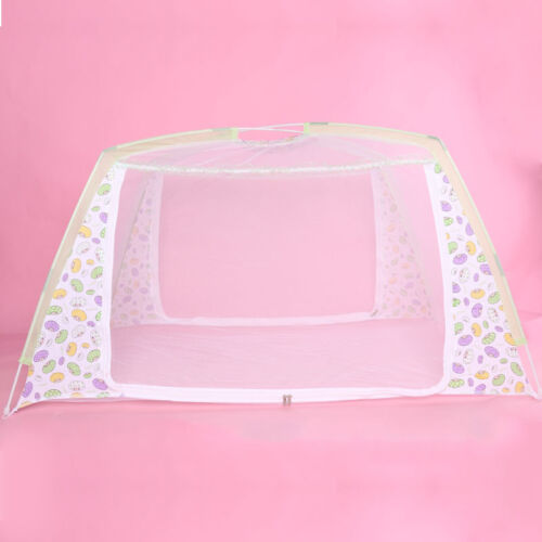 Baby Infant Folding Travel Bed Crib Canopy Mosquito Net