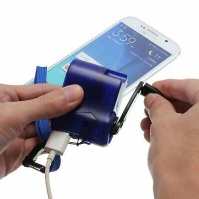 Hand Crank Power Generator USB Emergency Digital Display Phone Charger (Emergency Usb)
