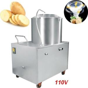 Commercial Potato Peeler Automatic &Cleaning machine 1500W - 2 HP - FREE SHIPPING