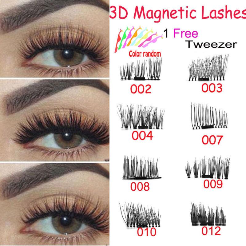 174 4 pcs lashes 3d magnetic