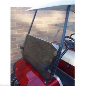 Golf Cart Windshields, Tinted, Foldable (**BRAND NEW**) for DS