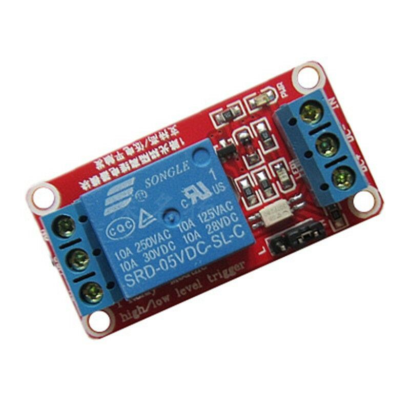New 5V 9V 12V 1 Channel Relay Module Expansion Board Optocoupler LED for Arduino